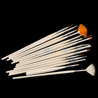 15pcs Nail Art Gel Design Painting Pen Polish Brush Set Tool Kit 2013 Hot Selling Women 01ZT