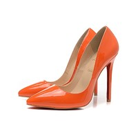 Christian Louboutin Fashion casual pointed women's shoes