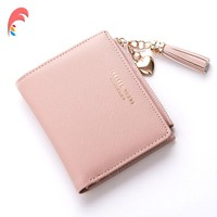 Leather Small Wallet Women Luxury Brand Famous Mini Women Wallets Purses Female Short Coin Zipper Purse Credit Card Holder