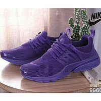 NIKE AIR PRESTO men and women tide brand fashion casual sports shoes F purple