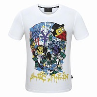 2018 Men Cheap Philipp Plein T Shirt hot sale ♂038