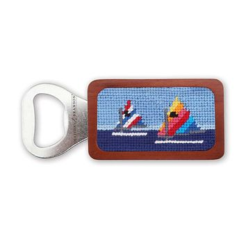 Day Sailor Needlepoint Bottle Opener by Smathers & Branson