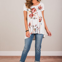 Fit To Be Fab Top, Ivory