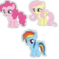 My Little Pony Friendship is Magic Sticker - My Little Pony - | TV Store Online