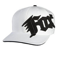 Fox Racing New Generation Flexfit Hat - Large/X-Large/White