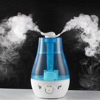 ATWFS 3L Air Humidifier Ultrasonic Aroma Diffuser Humidifier for home Essential Oil Diffuser Mist Maker Fogger