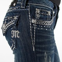 Miss Me Rhinestone Boot Stretch Jean - Women's Jeans | Buckle