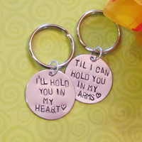 Love Quote Keychain -- Boyfriend/ Girlfriend -- Engagement -- Long Distance Relationships -- Just Because