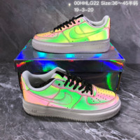 hcxx N1165 Nike Air Force 1 Chameleon low sport sneakers