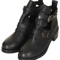 ARABEL2 CUT OUT BOOTS