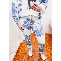 French Terry Spiral Tie Dye Joggers