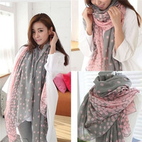 2015 New New Fashion Lady Women's Long Candy colors Scarf Wraps Shawl Stole Soft Scarves = 1958314948