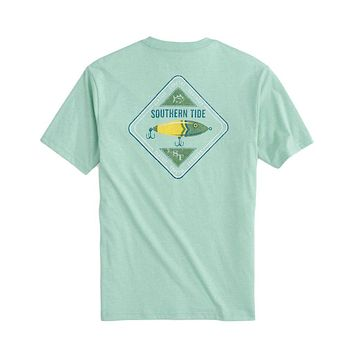 ST Lure Heather Tee Shirt by Southern Tide