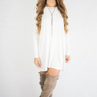 PIKO Kensington Off White Dress