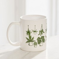 House Plants Mug | Urban Outfitters