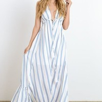 Summer Lovin' Striped Maxi Dress