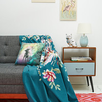 Pixel Garden Tapestry Throw - Urban Outfitters