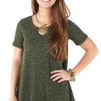 The Charlotte Sweater - Green