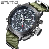 GIMTO Military Style Watch