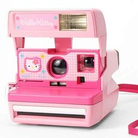 Impossible Vintage Hello Kitty Polaroid Instant Camera Set- Pink One