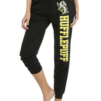 Harry Potter Hufflepuff Girls Jogger Pants