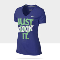 """Check it out. I found this Nike """"Just Kickin' It"""" Women's T-Shirt at Nike online."""
