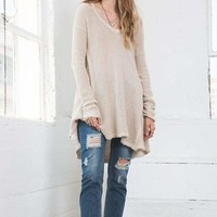 Cali Waffle Knit Sweater | Multiple Colors