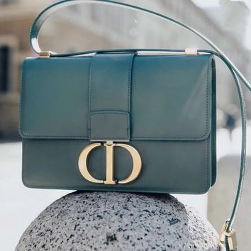 DIOR Montaigne Leather Shoulder Bag