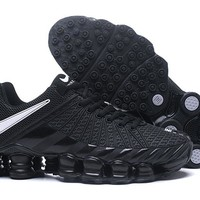 Nike Black Shox Avenue Men's Shoes Size 40-46