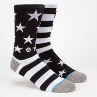Stance Bunker Mens Athletic Socks Black Combo One Size For Men 25529014901