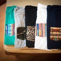 Custom order pocket tees