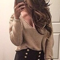 Melanie Knitted Sweater
