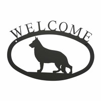 German Shepherd - Welcome Sign Small