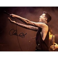 * AUSTIN CARLILE SIGNED PHOTO 8X10 RP AUTOGRAPHED * OF MICE & MEN SINGER * AND *