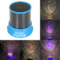 Crystal Romatic Gift Cosmos Star Sky Master Projector LED Starry Night Light Lamp Home Display Bedroom Toy Gift