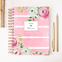 2018 Classic Planner – Pink Blossom