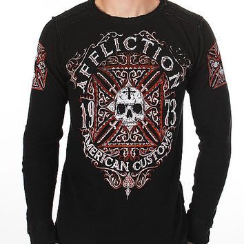 Affliction Death Cross Thermal Shirt