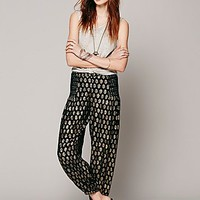 Intimately Womens Printed Leighanna Pant - Black Combo, S