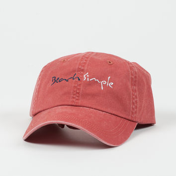 Classic Twill BeachSimple Hat - Nantucket Red