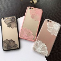 Retro Flower iPhone x 8 7 7Plus & iPhone 6s 6 Plus Case +Gift Box