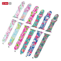 Lilly Inspired Apple Watch Band
