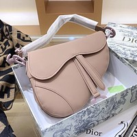 Dior saddle bag fashion trend single shoulder bag