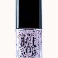 Speckled Pink Nail Polish