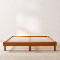 Luka Wood Platform Bed   Urban Outfitters