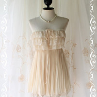 Sunshine Day Dream Soft French Cream by LovelyMelodyClothing