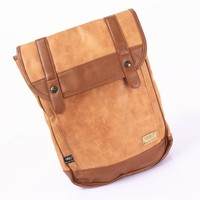 Korean Backpack Vintage Matte Men Travel Bags [6583352583]