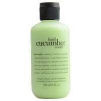 Basil Cucumber Cooler, Shower Gel--6oz