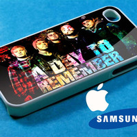 A day to remember galaxy iphone 4/4s case, iphone 5/5s/5c case, samsung s3 i 9300/s4 i 9500 case