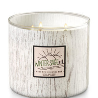 WINTER SAGE3-Wick Candle