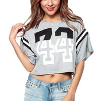 Relaxed Sporty Crop Top